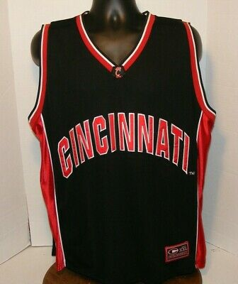 5946f434748d Cincinnati Bearcats  30 Colosseum Basketball Black Jersey Mens Xl New With  Tags