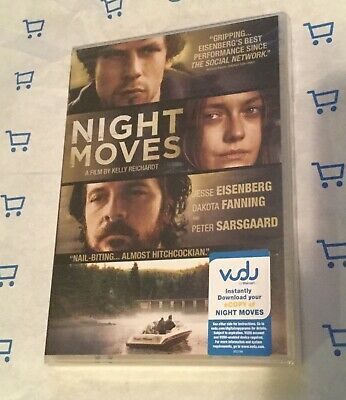 Night Moves (DVD, 2014) Brand NEW! Jesse Eisenberg | Peter Sarsgaard