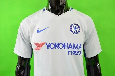 The Blues 2019-2018 NIKE Chelsea FC Away Shirt Football Jersey  SIZE S (adults)
