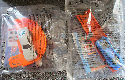 2x Hot Wheels Spielzeug-Autos D-MUSCLE & NIGHT SHIFTER, HAPPY MEAL, NEU & OVP