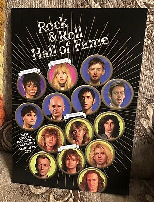 2019 Rock N Roll Hall Of Fame Induction Program Barclay Center 3/29/19 New York