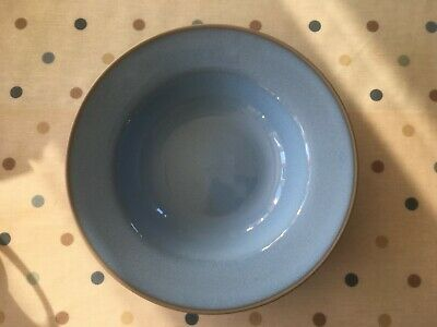 Habitat Blue Loft - Rimmed Bowl - Excellent condition, occasionally used