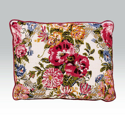 EHRMAN 'PINK CHINTZ' by SUSANNA LISLE discontinued TAPESTRY NEEDLEPOINT KIT