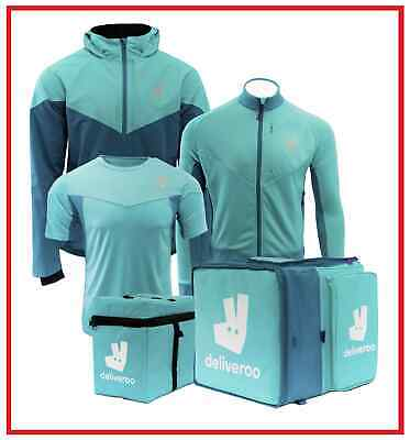 FULL DELIVEROO KIT - Outer Rucksack, Thermal Bag, Jacket, Helmet, Lights etc.