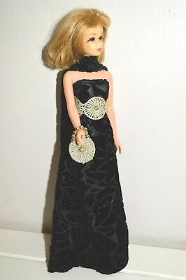 Handmade OOAK *I'll Close My Eyes* Formal Outfit for Vintage Francie Barbie Doll