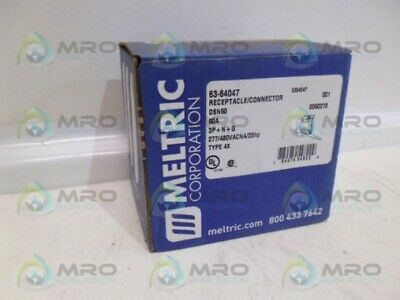 Meltric 63-64047 Receptacle/Connector *New In Box*