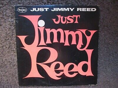 """Jimmy Reed """"Just Jimmy Reed"""" 1962 Vee Jay Bracket Label Gd+/Gd Oop Rare Blues Lp"""