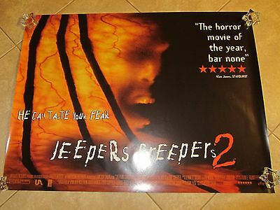 Jeepers Creepers 2 movie poster (UK Quad)  30 x 40 inches, Horror