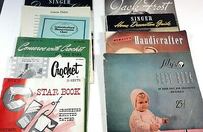 Vintage Sewing and Fashion magazines Patterns Handicrafter Lily's Baby Book 1900