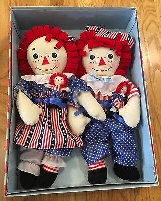 4 LARGE Raggedy Ann /& Andy WALL Art Room Vinyl Decal Limited Edition Stickers