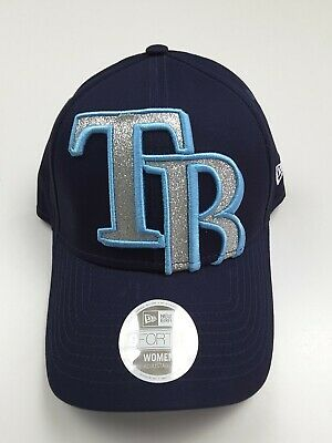 huge discount e6fd8 a9326 New Era 9Forty Women s Tampa Bay Rays MLB Glitter Glam Hat Cap Adjustable OS