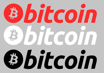 """6"""" Bitcoin Sticker Decal Vinyl Cryptocurrency HODL for Car, Laptop, Jeep, Truck"""