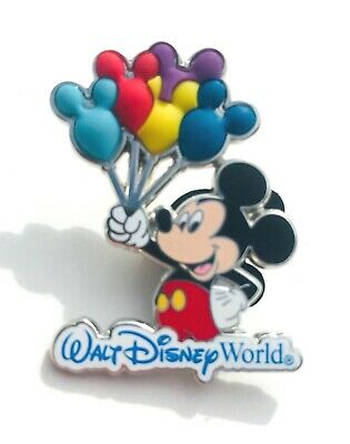Disney Parks Collection Walt Disney World Mickey Mouse Balloons Pin