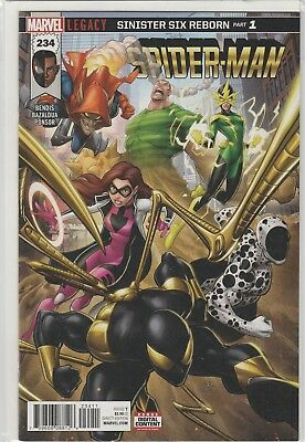Spider-Man #234 - Legacy - Return of the Sinister Six - NM