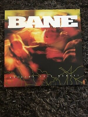 Bane Holding This Moment LTD PRESSING /250 Yellow w Black Splatter HUP Records!