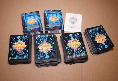 Doctor Who Trading Card game Lot. Classic Series. Lots of cards, some rare