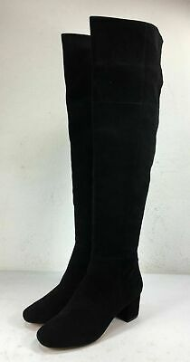 aae812cb015 JEFFREY CAMPBELL SHERISE black suede over the knee boots size 8.5 ...