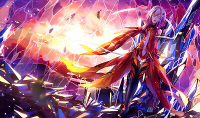 TT064 Guilty Crown Custom Playmats Yugioh MTG Pokemon Vanguard Anime Gaming Mats