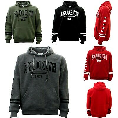 Men's Adult Unisex Hoodie Jumper Casual Pullover Sports - Brooklyn 1975
