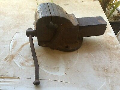 Vintage Dawn 4 Sp Bench Vice