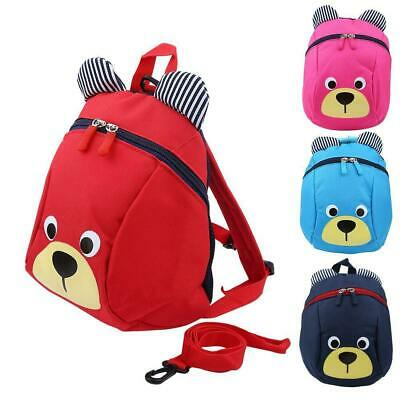 Kids Safety Harness Reins Toddler Back pack Walker Buddy Strap Walker Baby Bag