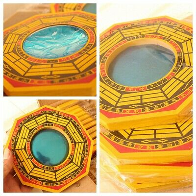 Chinese Feng Shui Dent Convex Bagua Mirror Blessing Lucky House Protection