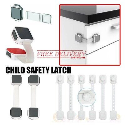Child Safety Locking Appliances Secure Cabinet Drawers Latch Lock Guard Toddlers