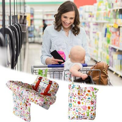 Kids Baby Shopping Cart Cushion Trolley Seat Chair Cover Travel Bag Protector