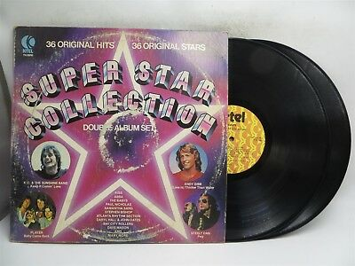 Super Star Collection ♫ Various Artists - Classic Rock ♫ K-Tel Double LP Record