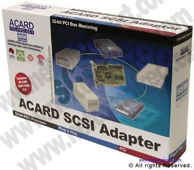 Acard Technology AEC-6712UW PCI Ultra Wide SCSI-3 Adapter Card.  -  AEC6712UW