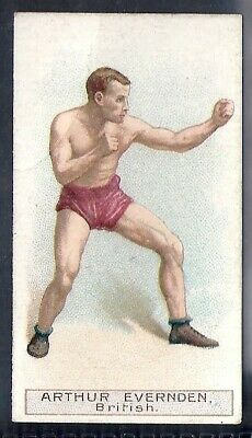 Wills Other Overseas Issues-Boxers Boxing- Arthur Evernden