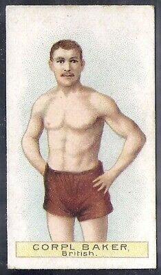 Wills Other Overseas Issues-Boxers Boxing- Corpl Baker