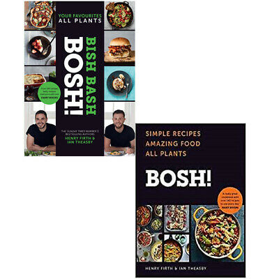 BISH BASH BOSH, BOSH 2 Books Collection Set By Henry Firth & Ian Theasby NEW