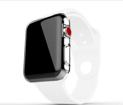 For Apple Watch Series 4 iWatch 40/44mm Clear TPU Screen Protector Case