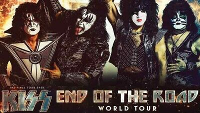BEST DEAL!  KISS Concert Tickets (TWO) - SPAC August 24, 2019