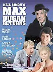 Max Dugan Returns (DVD, 2005) MINT disk and box with chapter insert
