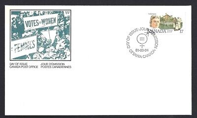 Canada     # 879    CANADIAN FEMINISTS - EMILY STOWE    New 1981 Unaddressed