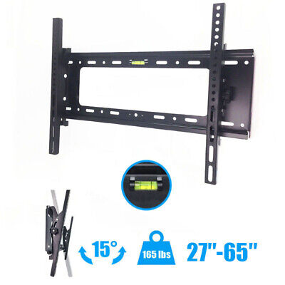 "Articulating Full Motion TV Wall Mount 15°Tilt 160°Swivel For 55""60""65""70""75""80"""