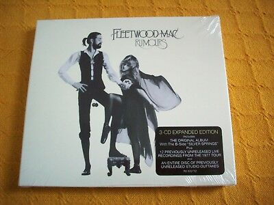 Rumours [35th Anniversary Deluxe Edition] [Digipak] by Fleetwood Mac,2013 Press.