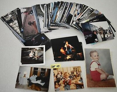 LOT 200+ ORIGINAL COLOR PHOTOS ~ Family Friends Travel Events Pets Concerts #10