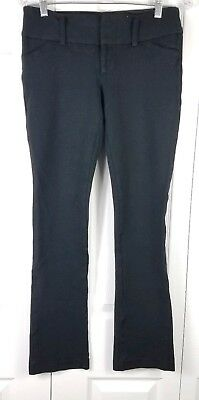 ALICE + OLIVIA womens size 4 black skinny leg cotton stretch career work pants
