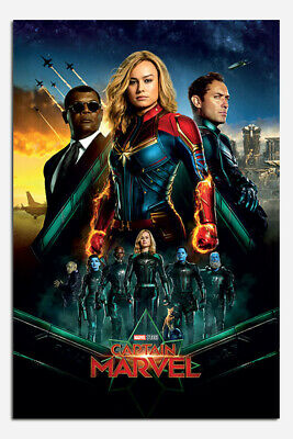 Laminated Captain Marvel Epic Heroes Official Maxi Poster