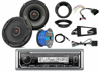 "Kenwood Marine Bluetooth Radio,2x JBL 6.5"" Speakers -Bulk Packaging, Accessories"