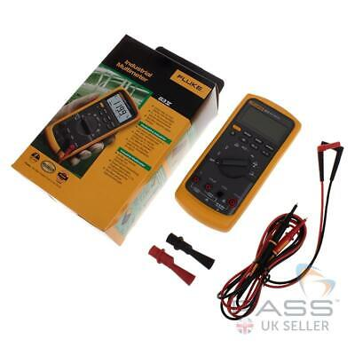 Genuine Fluke 83V Industrial Digital Multimeter + Accessories and Holster / UK