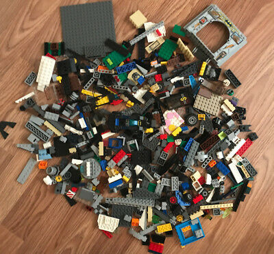 Lego TWO LBS Of Clean Gently Used Genuine Lego's Bulk Lot