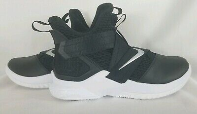 cheap for discount f2607 68721 Nike Lebron Soldier 12 XII TB Black White 2018 Womens Basketball shoes size  10