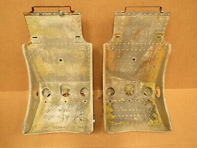 Rare Original WWII P-51 Mustang Fighter Aircraft Seats for Hot Rat Rod Ford