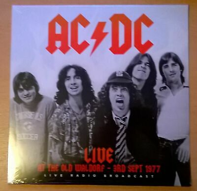 AC/DC Live At The Old Waldorf - 3rd Spt 1977 LP neuf scellé / sealed RARE COVER