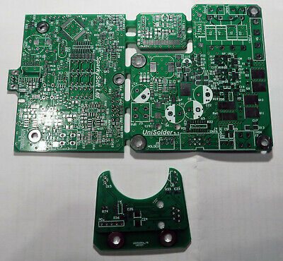 Unisolder 5.2 PCBs. With sensor PCB also! Brand new.