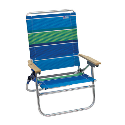 Cool Rio Brands Lace Up Backpack Beach Chair Blue Green Stripe Gmtry Best Dining Table And Chair Ideas Images Gmtryco